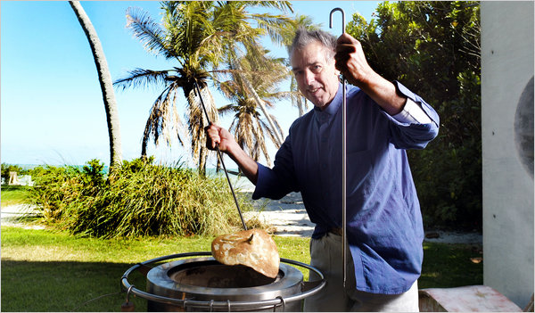 Backyard Tandoor from fine arts to being a tandoor mogul-ron levy - thoughtful india