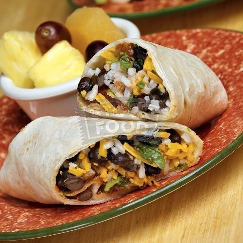 Black Bean And Brown Rice Burrito Recipes — Dishmaps