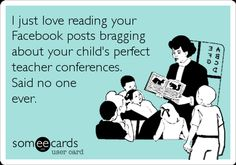 """How many times in a week do you come across a Facebook update like this """" I am so proud of my son/daughter, he got …."""" , The list […]"""